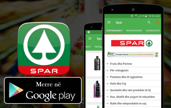 spar liqeni supermarketi juaj si app ne play store posta juaj reklama me email email. Black Bedroom Furniture Sets. Home Design Ideas