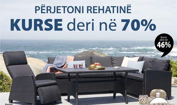JYSK Albania – PËRJETO REHATINË, Kurse deri në 70%