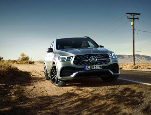 Mercedes-Benz: GLE e re. Fuqi e gjithanshme.