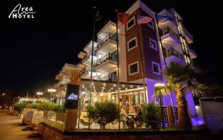 Area Hotel Ksamil