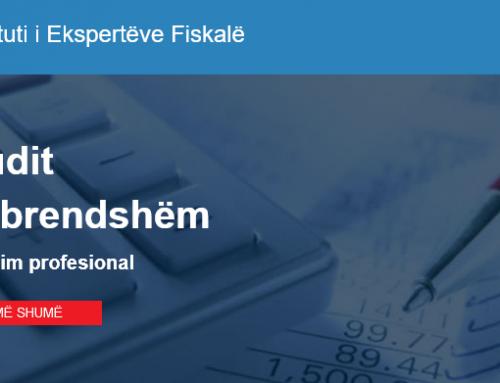 Instituti i Ekspertëve Fiskalë – Trajnimi Audit të Brendshëm
